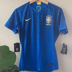 NWT Brazil Soccer Jersey by Nike